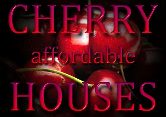 Cherry affordable houses logo