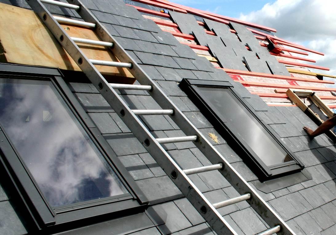 Slate Roofing Tiles Skylights Roofs
