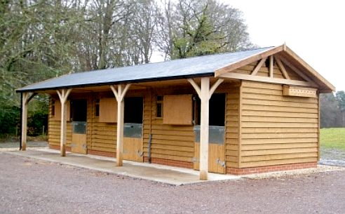 TIMBER   Various Stable Designs Using Wooden Construction On A Solid  Concrete Base. The Main Objective Is To Provide A Home To Shelter Your  Horses From The ...