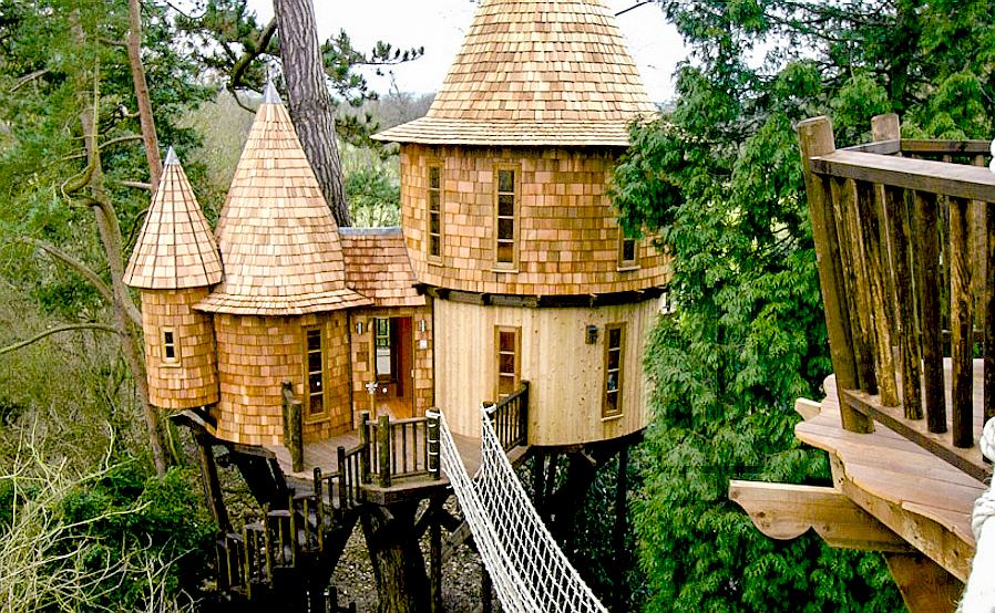 It would be a real shame if fewer tree houses are built. They are such