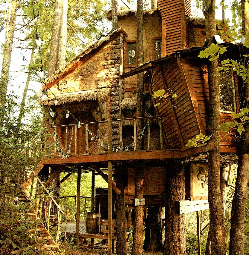 treehouse masters treehouses. Nelson Owns And Operated Treehouse \u0026 Supply In Fall City, WA, 30 Miles Outside Of Seattle The Company Is A Family Affair, With Wife Judy, Masters Treehouses