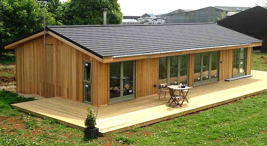 Southern housing society Wooden homes to build