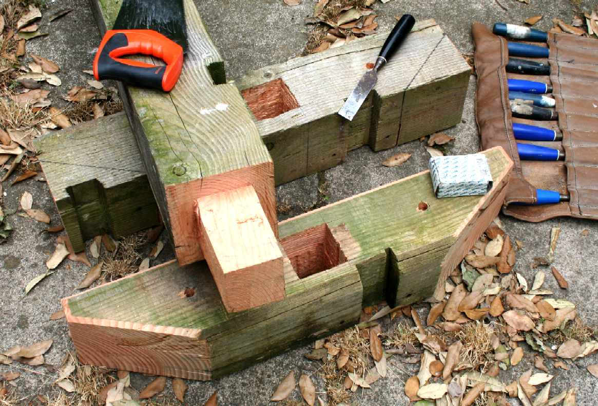 how to cut a timber